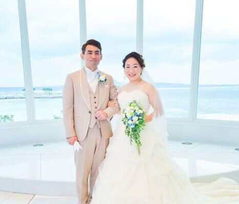 沖縄結婚式花嫁