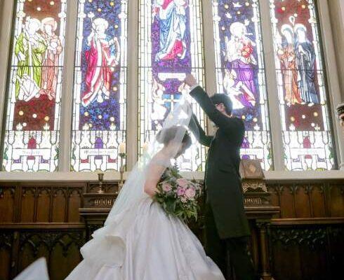 キャメロットヒルズ結婚式花嫁
